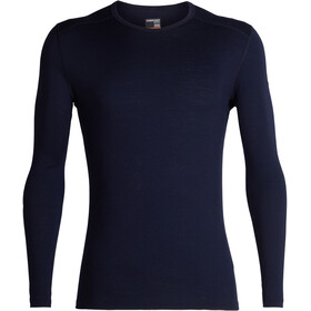 Icebreaker 200 Oasis Longsleeve Crew Top Heren, midnight navy